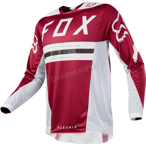 Fox Dark Red Flexair Preest Jersey - 19414-208-XL