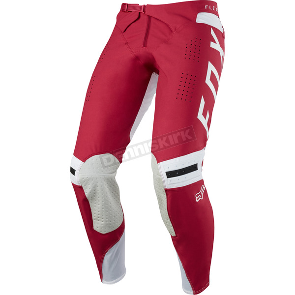 Fox Dark Red Flexair Preest Pants - 19415-208-32