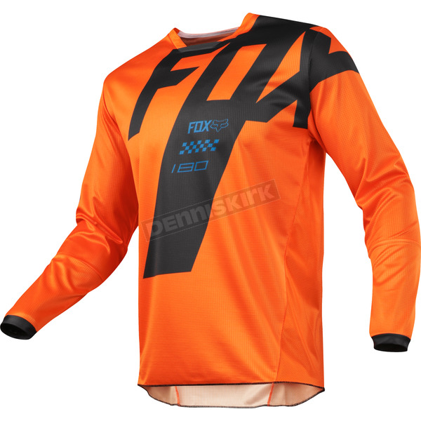 Fox Orange 180 Mastar Jersey - 19430-009-XL