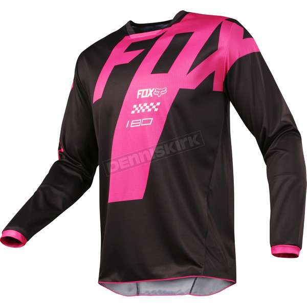 Fox Black 180 Mastar Jersey - 19430-001-XL