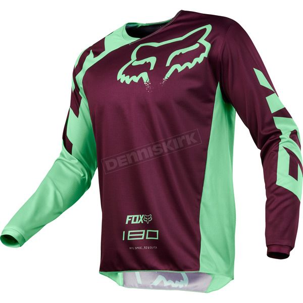 Fox Green 180 Race Jersey - 19426-004-S