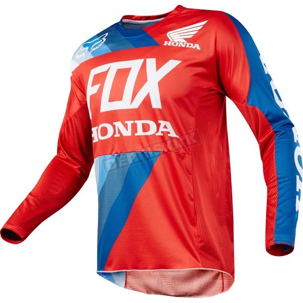 Fox Red 360 Honda Jersey - 19424-003-XL