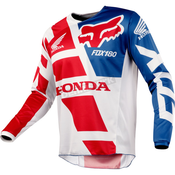 Fox Red 180 Honda Jersey - 19436-003-XL