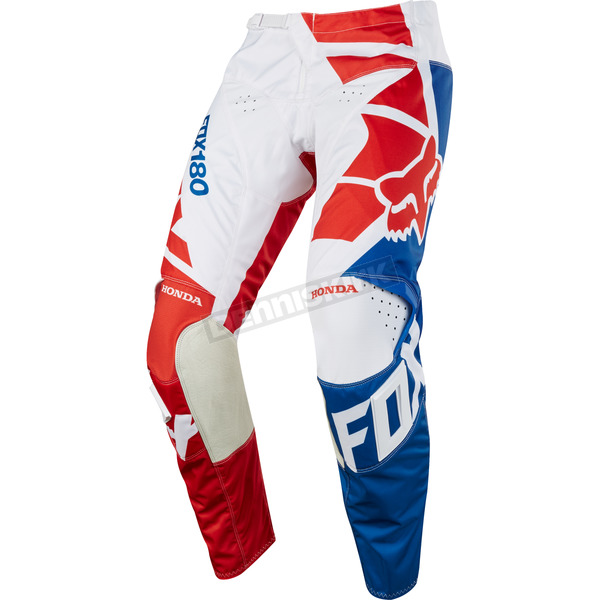 Fox Red 180 Honda Pants - 19437-003-32