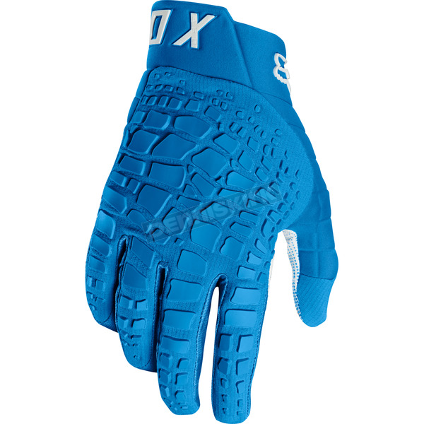 Fox Blue 360 Grav Gloves - 17289-002W-S