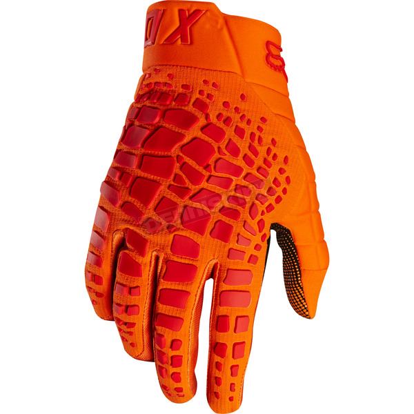 Fox Orange 360 Grav Gloves - 17289-009-2X