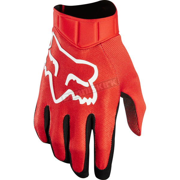 Fox Red Airline Race Gloves - 20489-003-L