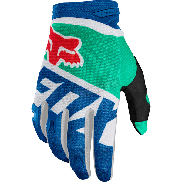 Fox Green Dirtpaw Sayak Gloves - 19504-004-2X