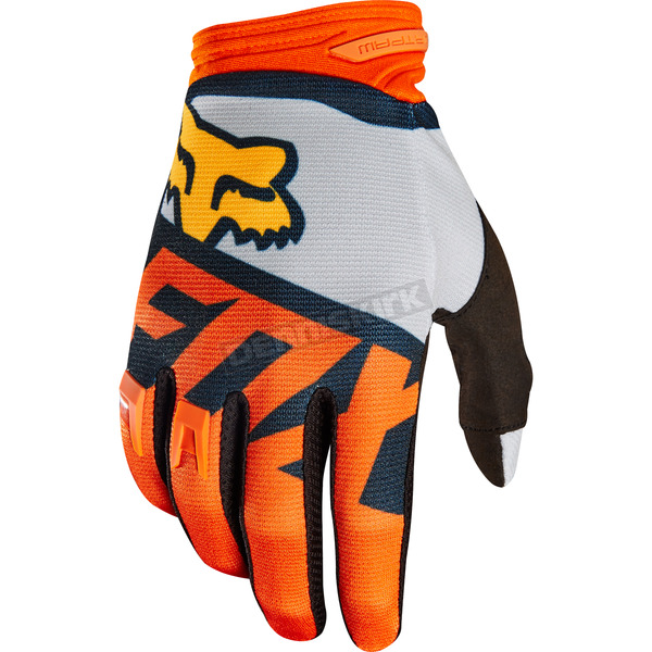 Fox Orange Dirtpaw Sayak Gloves - 19504-009-M