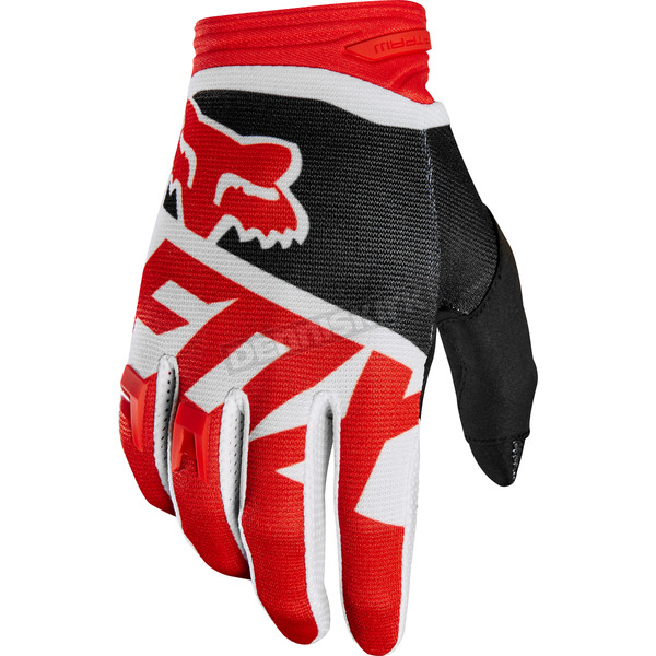 Fox Red Dirtpaw Sayak Gloves - 19504-003-XL