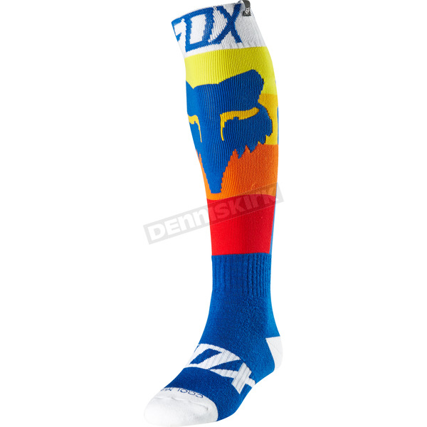 Fox Blue Draftr Coolmax Thin Socks - 20002-002-L