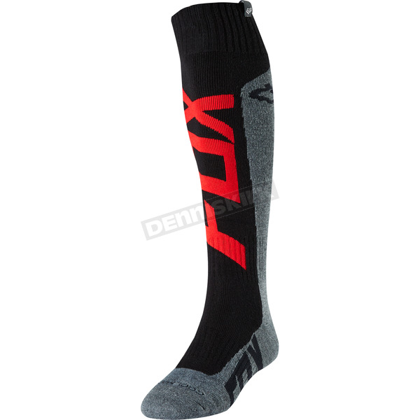 Fox Red/Charcoal Preme Coolmax Thick Socks - 21382-140-L