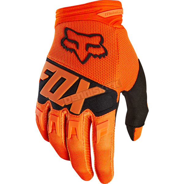 Fox Youth Orange Dirtpaw Gloves - 19507-009-L