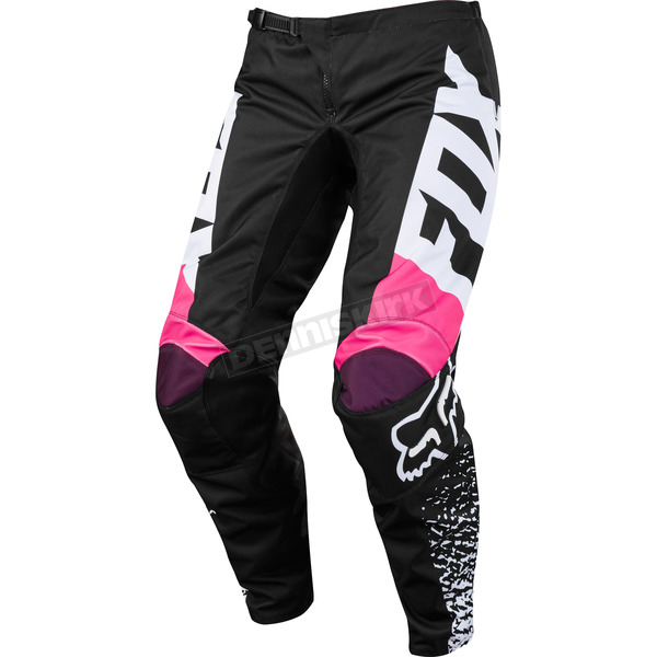 Fox Kid's Girl Black/Pink 180 Pants - 19455-285-K5