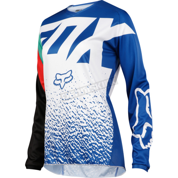 Fox Women's Blue 180 Jersey - 19438-002-XS