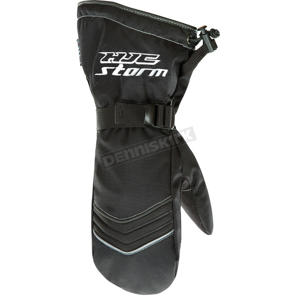 HJC Black Storm Mitts - 1228-063