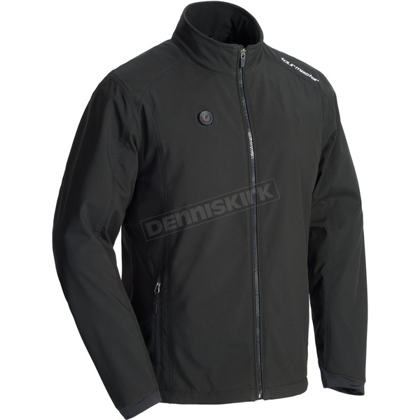 Tour Master Black Synergy 7.4-Volt Battery Powered Heated Jacket - 8761-0405-04