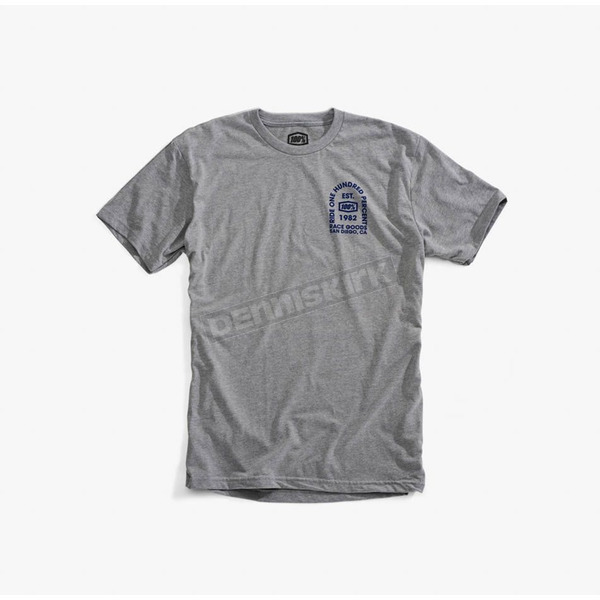 100% Heather Gray Tombstone T-Shirt - 32076-188-13