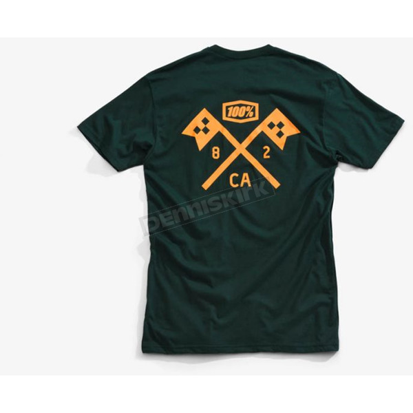 100% Forrest Green Victory T-Shirt - 32071-134-13
