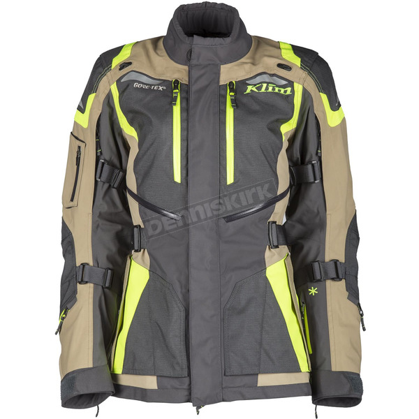Klim Women's Black/Tan Artemis Jacket - 3015-000-160-500