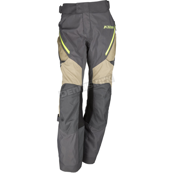 Klim Women's Black/Tan/Hi-Vis Artemis Pants - 3016-000-006-500