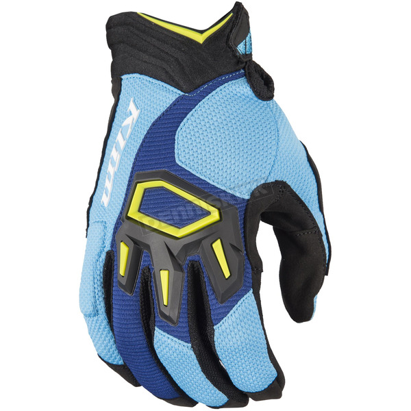 Klim Blue/Light Blue Dakar Gloves - 3167-003-120-200
