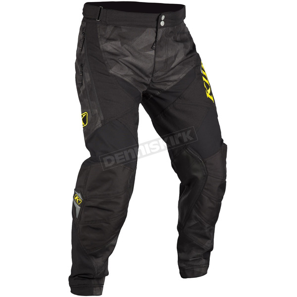 Klim Black/Gray Camo Dakar In-the-Boot Pants - 3182-004-042-600