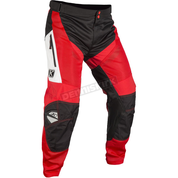 Klim Red/Black Mojave In-The-Boot Pants - 3183-004-030-100