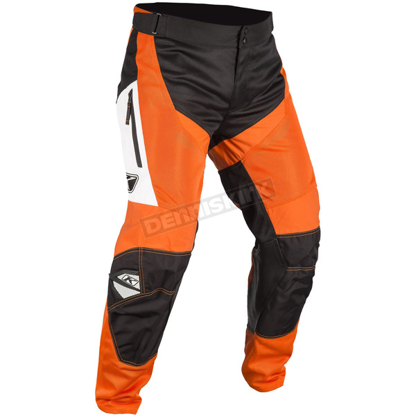 Klim Orange/Black Mojave In-The-Boot Pants - 3183-004-040-400