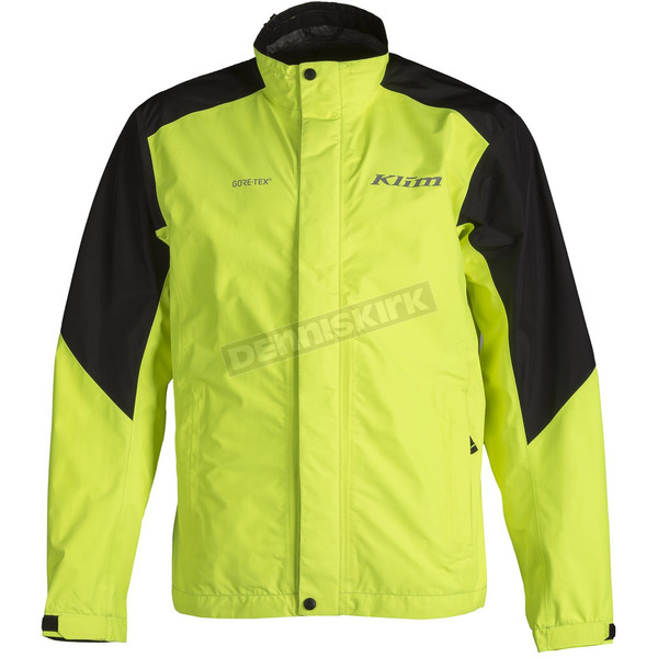 Klim Hi-Vis/Black Forecast Rain Jacket - 3333-001-120-500