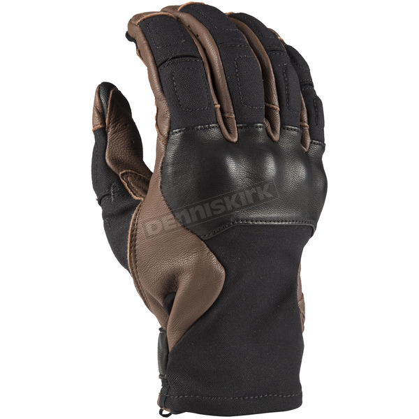 Klim Black/Brown Marrakesh Gloves - 3718-000-130-900