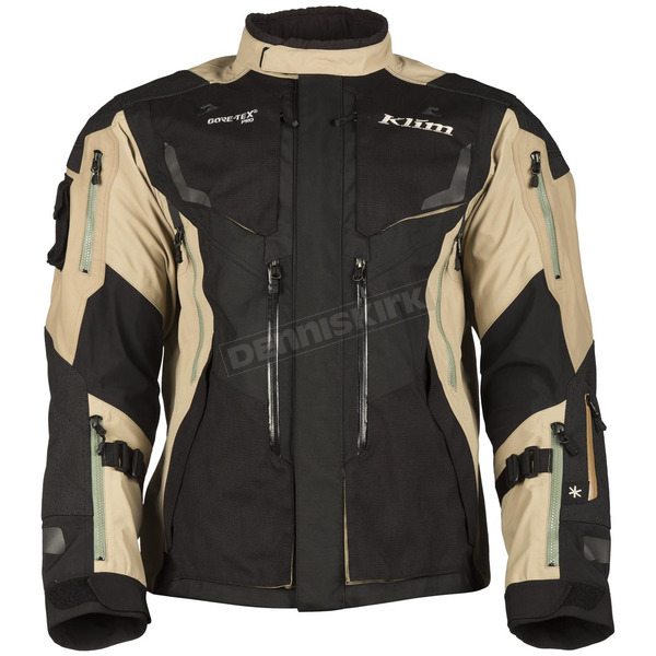 Klim Black/Tan Badlands Pro Jacket - 4052-002-160-900