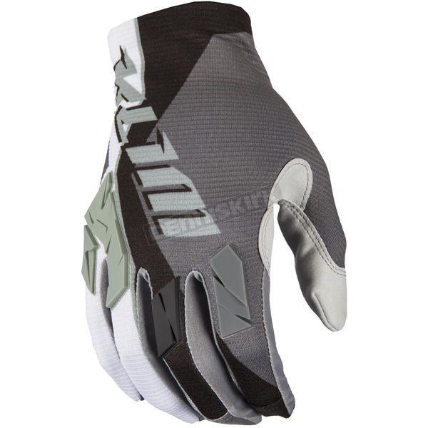 Klim Gray/Black/White XC Lite Gloves - 5002-002-120-600