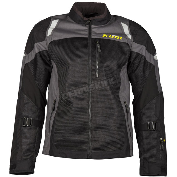 Klim Black/Dark Gray Induction Jacket - 5060-002-160-660