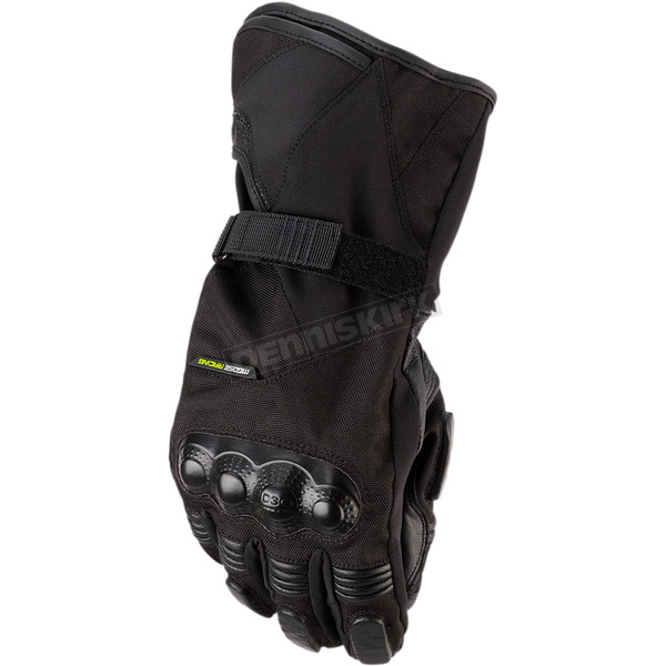Black ADV1 Long Gloves