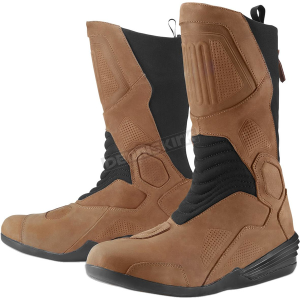 Icon Brown Joker WP Boot - 3403-0962