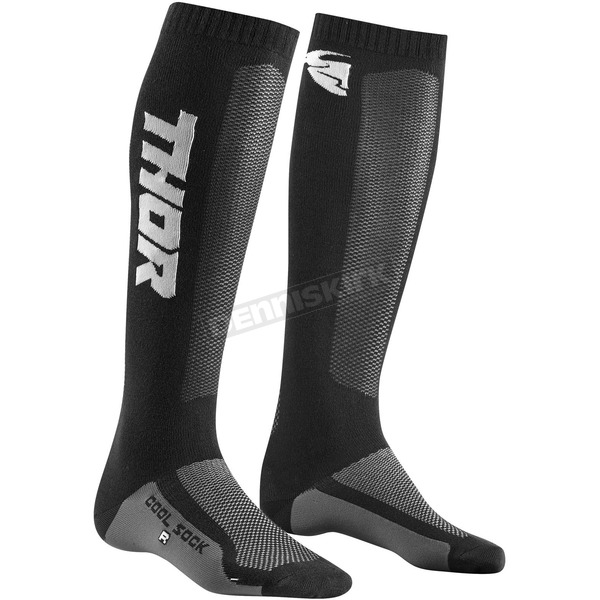 Black/Charcoal MX Cool Socks