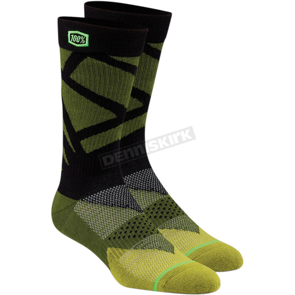 100% Fatigue Rift Athletic Socks - 24015-005-18
