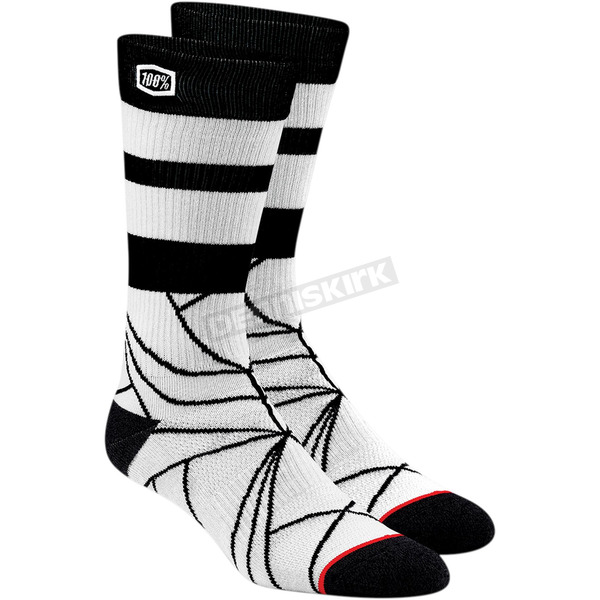100% Stone Fracture Athletic Socks - 24016-289-17