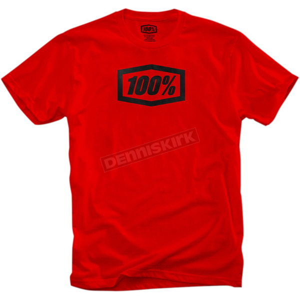 100% Red Essential T-Shirt - 32016-103-14