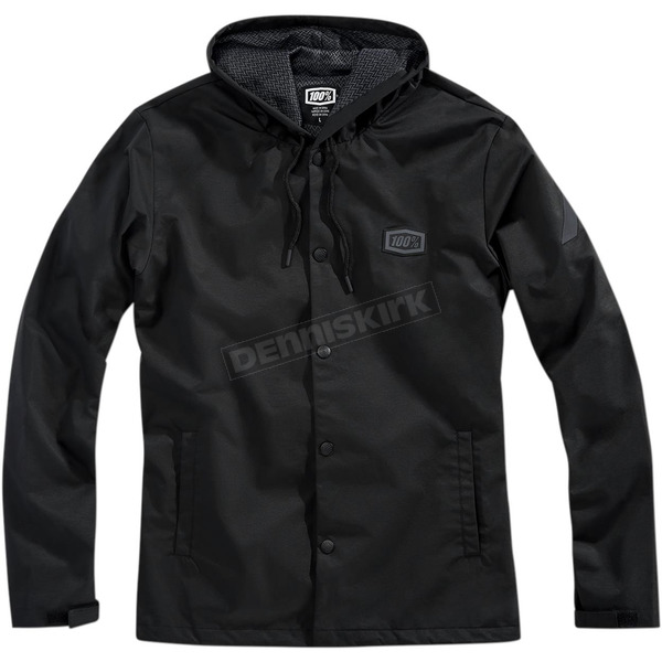 100% Apache Hooded Snap Jacket - 39005-001-10