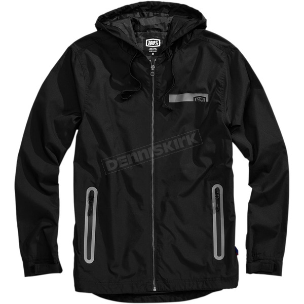 100% Black Storbi Lightweight Jacket - 39003-057-10