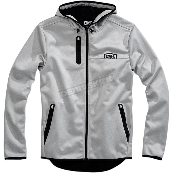100% Mission Softshell Hooded Jacket - 39007-015-13