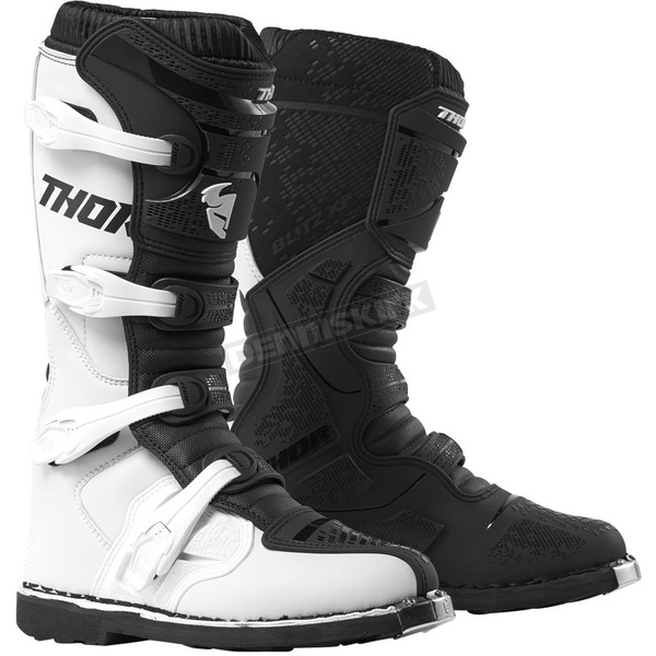 White/Black Blitz XP Boots
