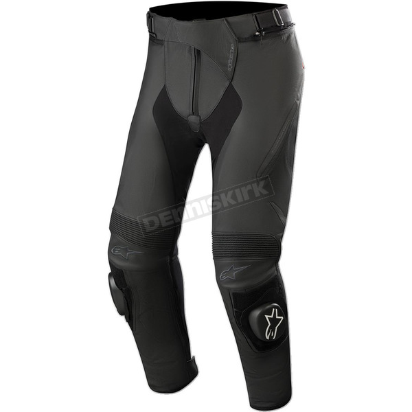 Black Long Missile v2 Leather Pants - 3120719-10-44