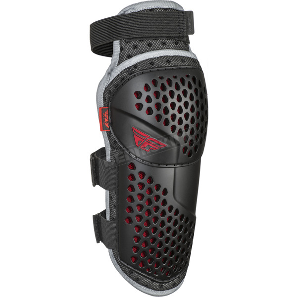 Youth Black/Red Barricade Flex Knee Guard - 28-3110