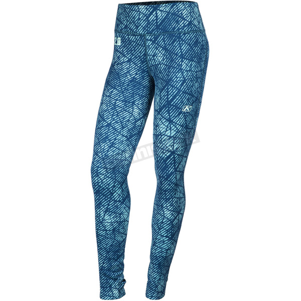 Klim Women's Blue Solstice 2.0 Base Layer Pants - 3202-002-140-200