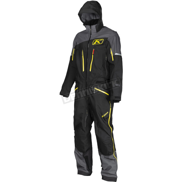 Klim Black/Gray Lochsa One-Piece Suit - 3262-001-130-000