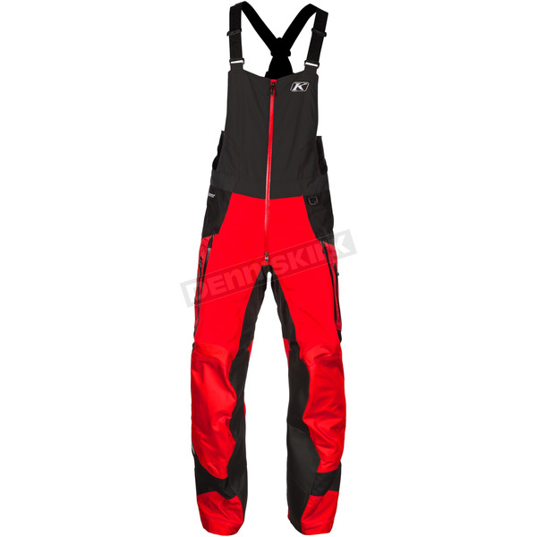 Klim Red/Black Havoc Bibs - 3285-001-140-100