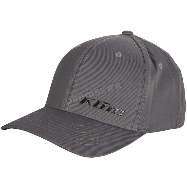 Klim Gray Stealth FlexFit Hat - 3993-000-140-600